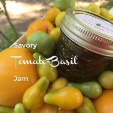 Savory Tomato Basil Jam horizontal diningwithdebbie.net