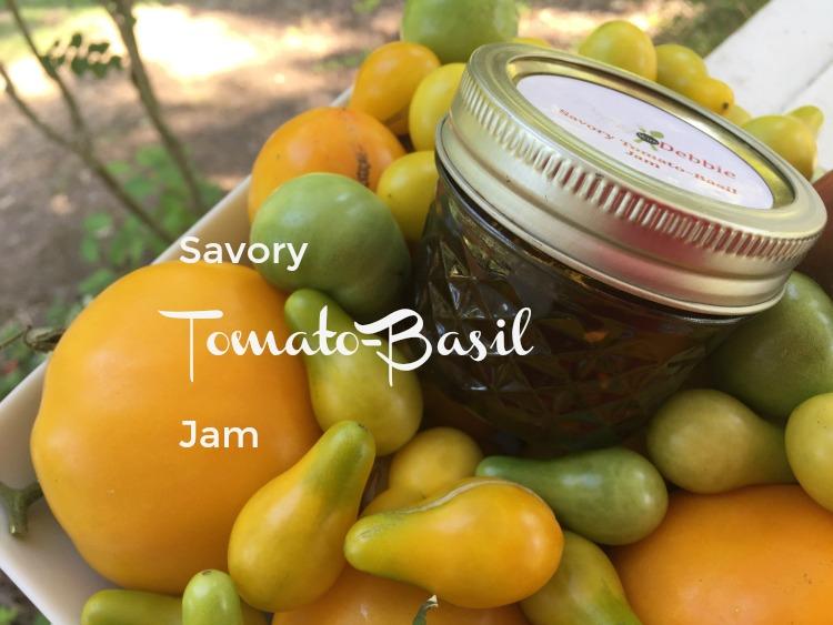 Preserving Summer: Savory Tomato-Basil Jam