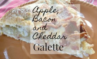 apple bacon and cheddar galette feature
