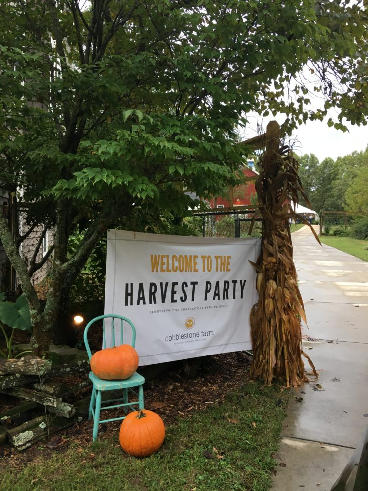 Cobblestone Harvest Party – Taking the Farm to the Barn {Giveaway}