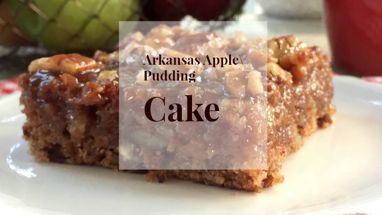 Arkansas Black Apple Pudding Cake
