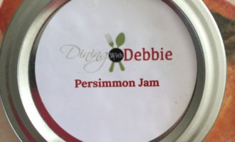 persimmon jam from diningwithdebbie.net
