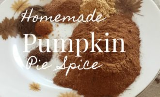homemade pumpkin pie spice mix via diningwithdebbie.net