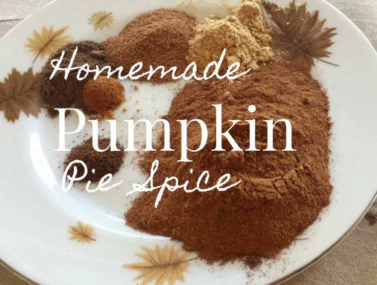 homemade pumpkin pie spice mix via diningwithdebbie.net