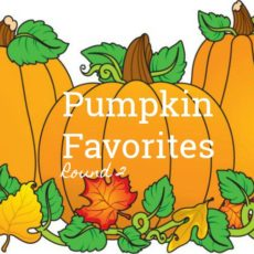 pumpkin favorites round 2