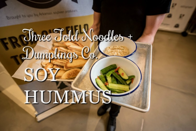 Soy Hummus from Three Fold Noodles + Dumpling Co. {Kitchen|Fields Table Tour}