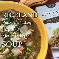 Riceland Roast Turkey Vegetable Rice n Easy Soup via diningwithdebbie.net