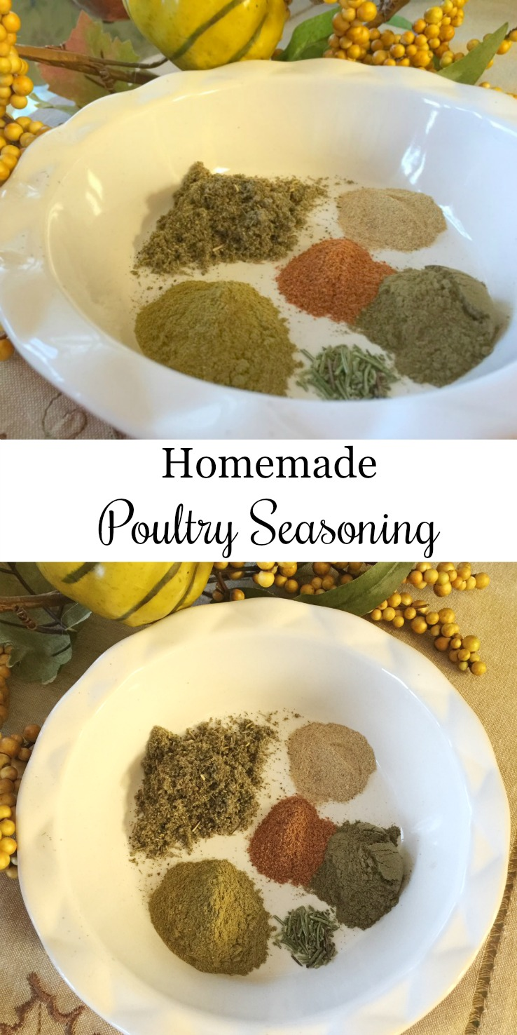 Kitchen Basics: Homemade Poultry Seasoning pin via diningwithdebbie.net