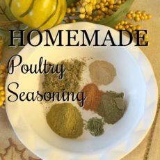 Homemade Poultry Seasoning via diningwithdebbie.net