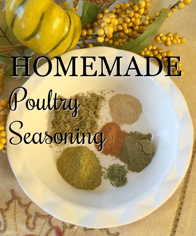 Homemade Poultry Seasoning via diningwithdebbie.net