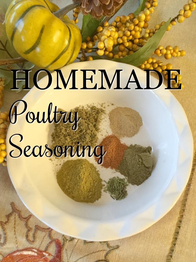 Kitchen Basics: Homemade Poultry Seasoning