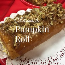 Classic Pumpkin Roll via diningwithdebbie.net