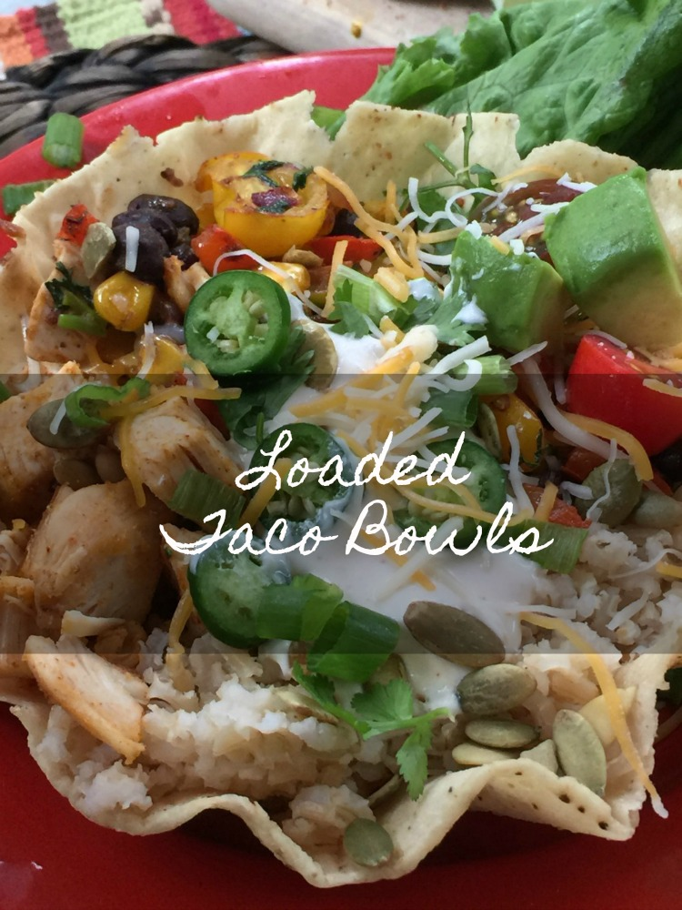 Loaded Taco Bowls {Riceland}