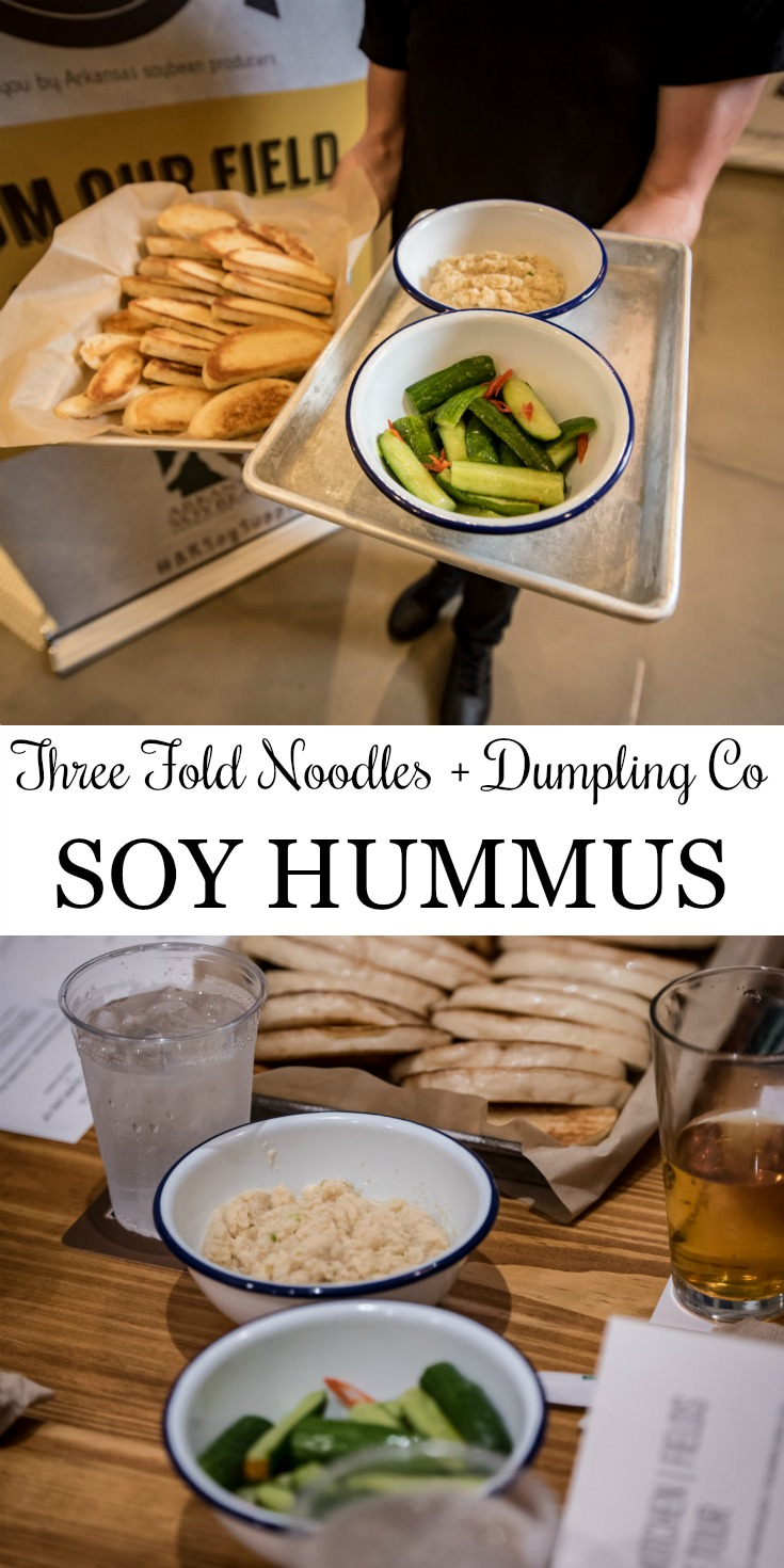 Soy Hummus Celebrating Arkansas Soybean Month