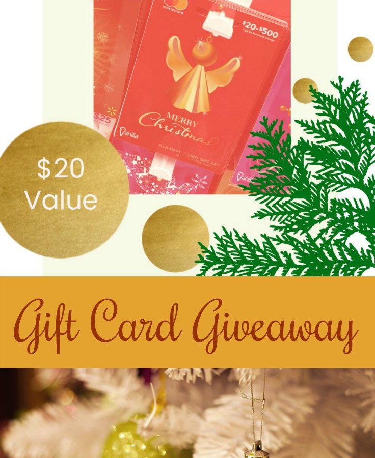 Gift Card Giveaway via diningwithdebbie.net #ad #savemoneygivebetter2017