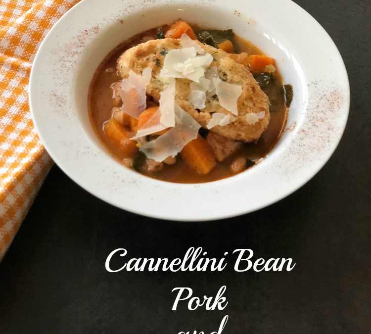 Cannellini Bean, Pork and Kale Soup